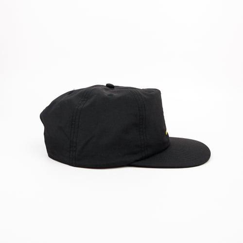 Image of 'CONSTELLATION' CAP IN BLACK