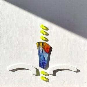"""Image of JOYA DE PARED """"CINCO SOLES PARA TI"""" (Pieza ÚNICA)"""