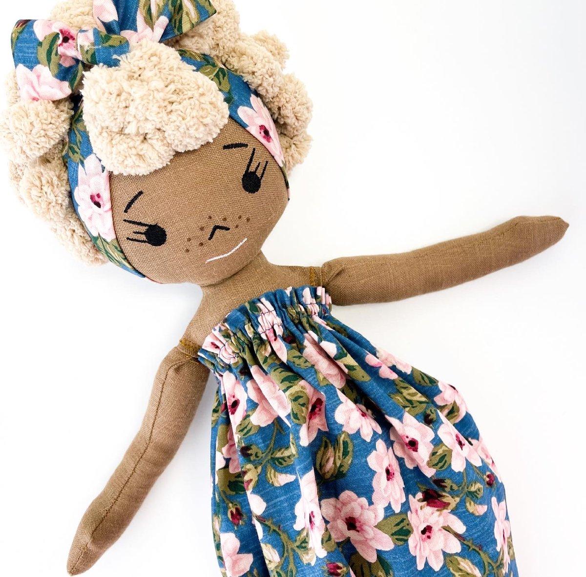 Simone More to Love Handmade Linen Doll (Waitlist Preorder Item - ship date Oct 1-Mar 30,2022)