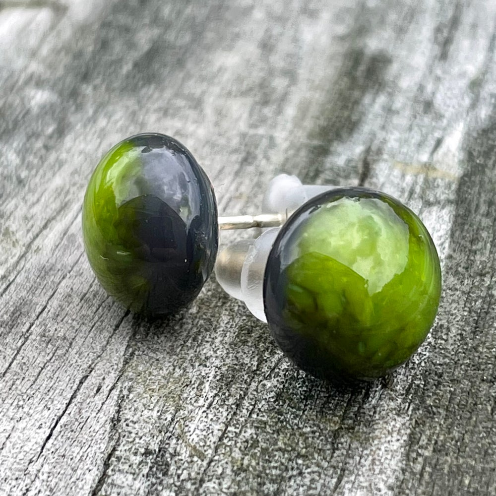 Image of Mossy Green Studs