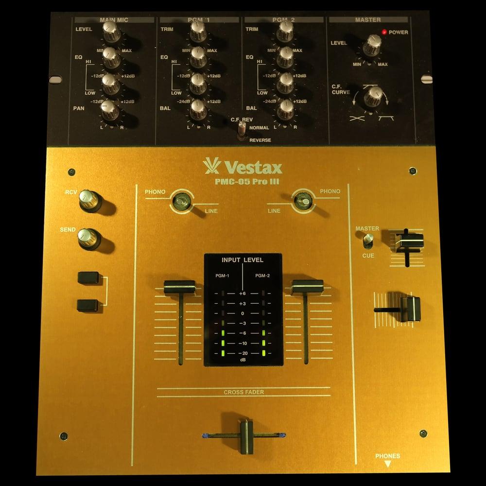 Image of NMCP CUSTOM FACEPLATE - Vestax PMC 05 - Colour