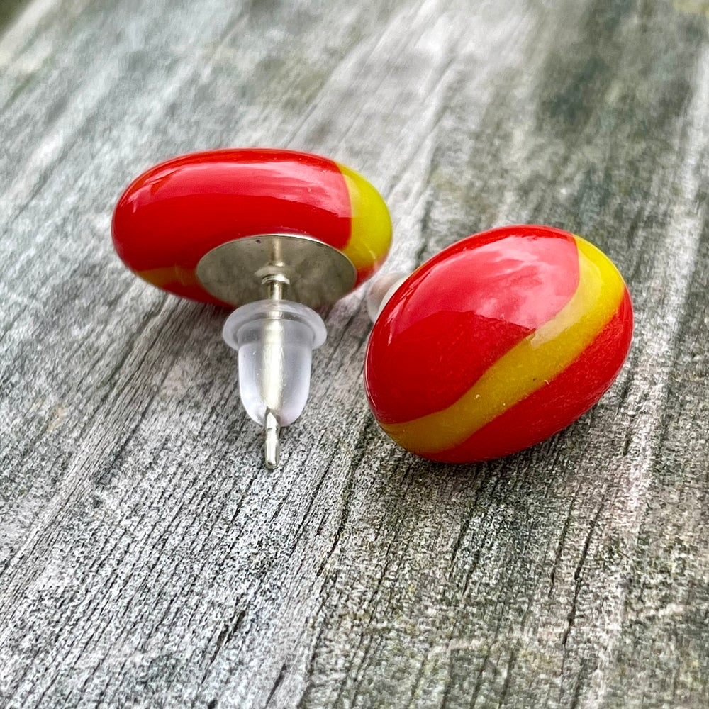 Image of Red and Green Studs