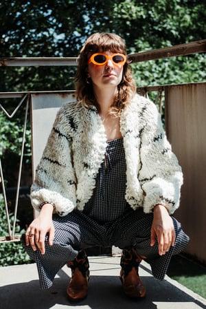 Image of Mimico Cardigan (shown in Limited Targhee & Alpaca spun wool)