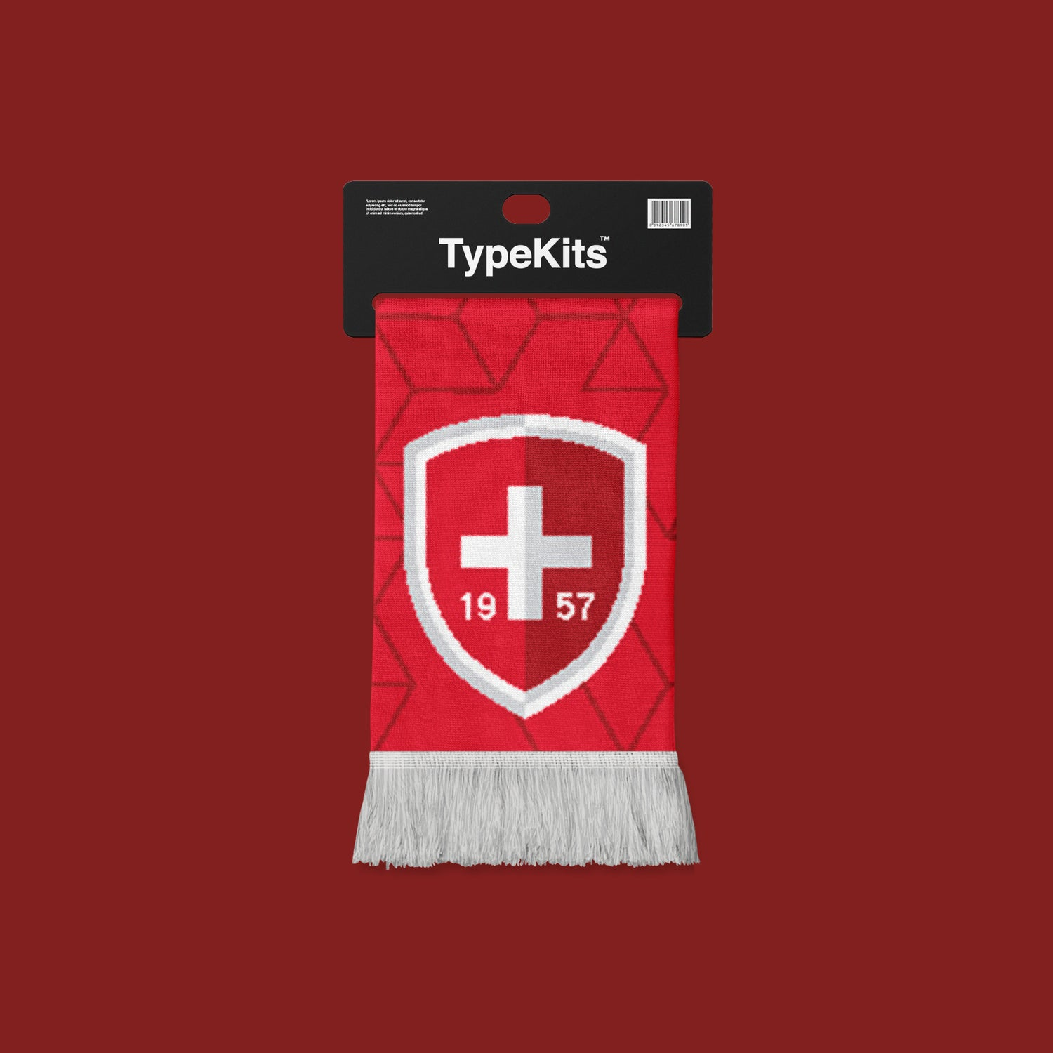 Image of Team Helvetica 1957 Scarf - Ltd Qty