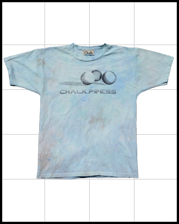 Image of Spinning Depth T-Shirt Flower Stained