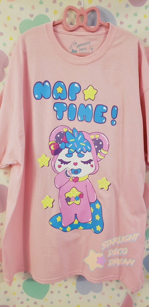 Image of FLASH SALE! Bubby's Nap Time Screenprinted Cotton Tee