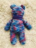 Bluey the Bear Crocheted Soft Toy