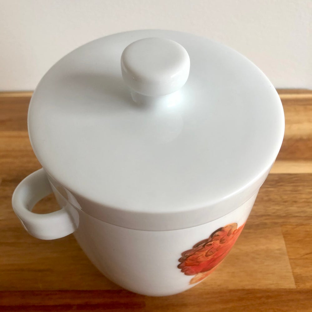 Chicken Ceramic Canister