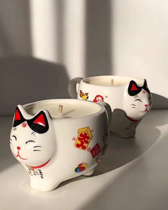 Image of LUCKY CAT CANDLE