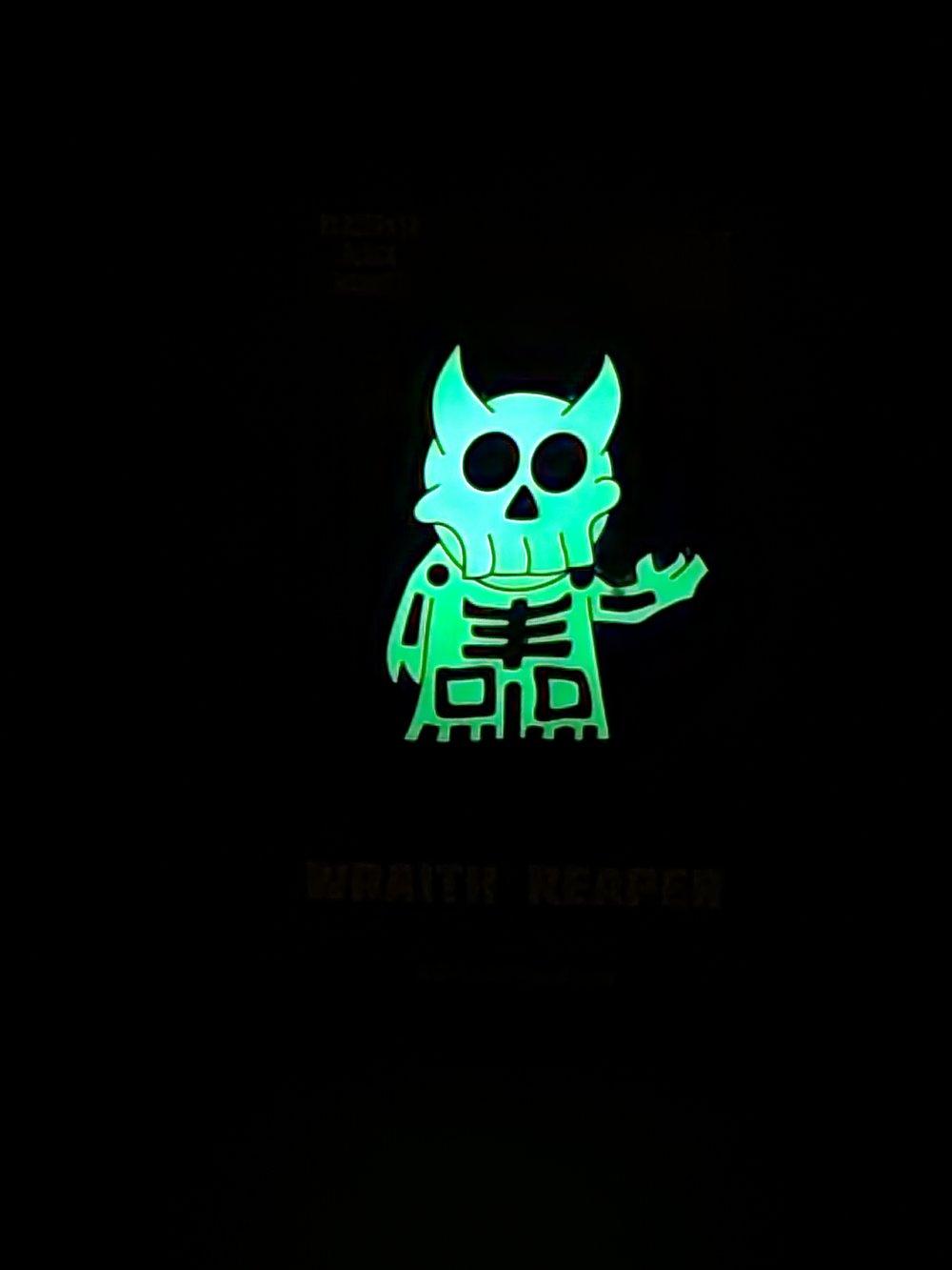 """""""Necro Blanc"""" Wraith Reaper Enamel Pin"""