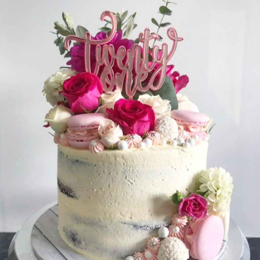 Image of Custom Double Layer Cake Topper