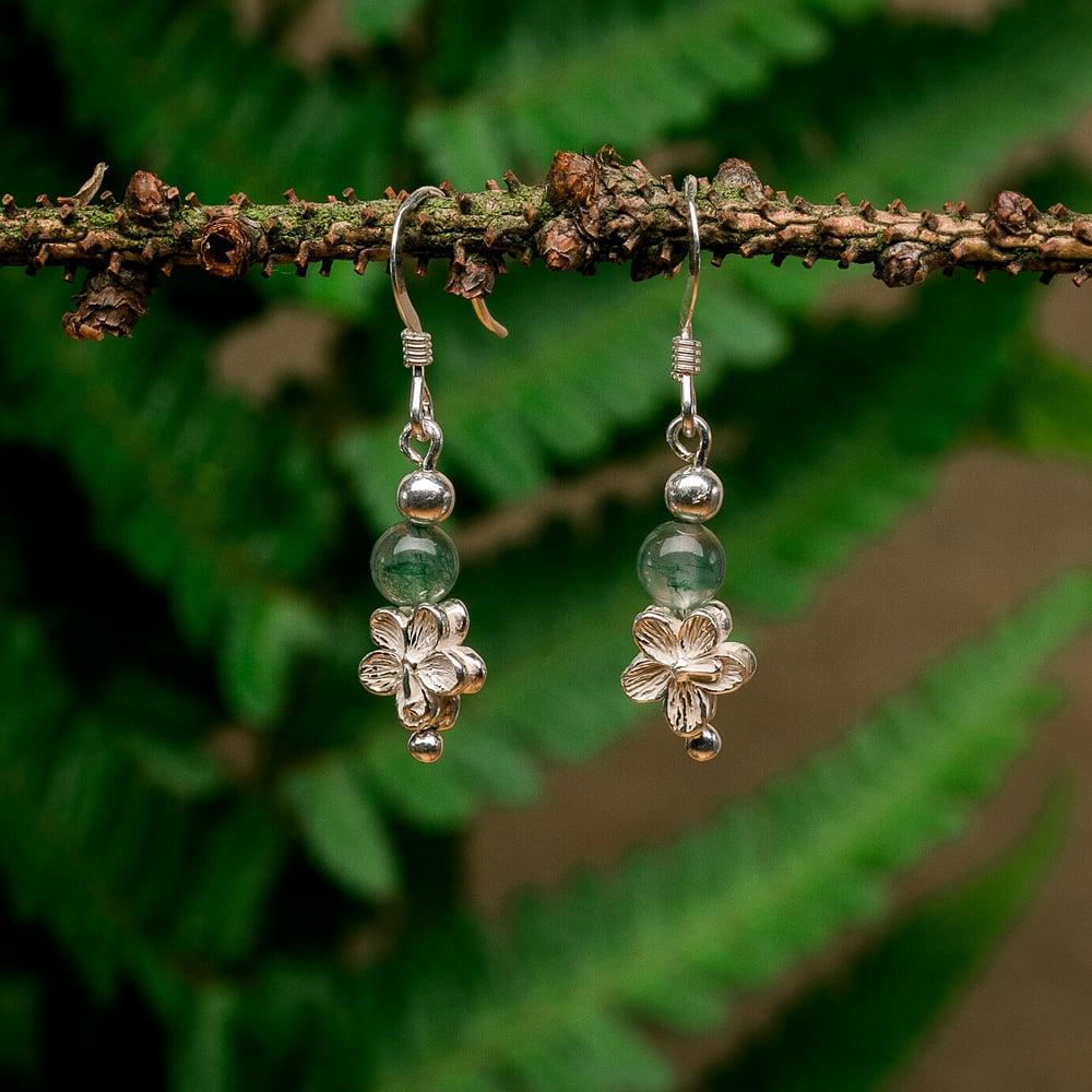 Image of Geranium Earrings