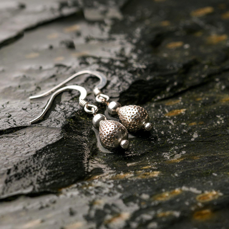 Image of Penguin Egg Earrings