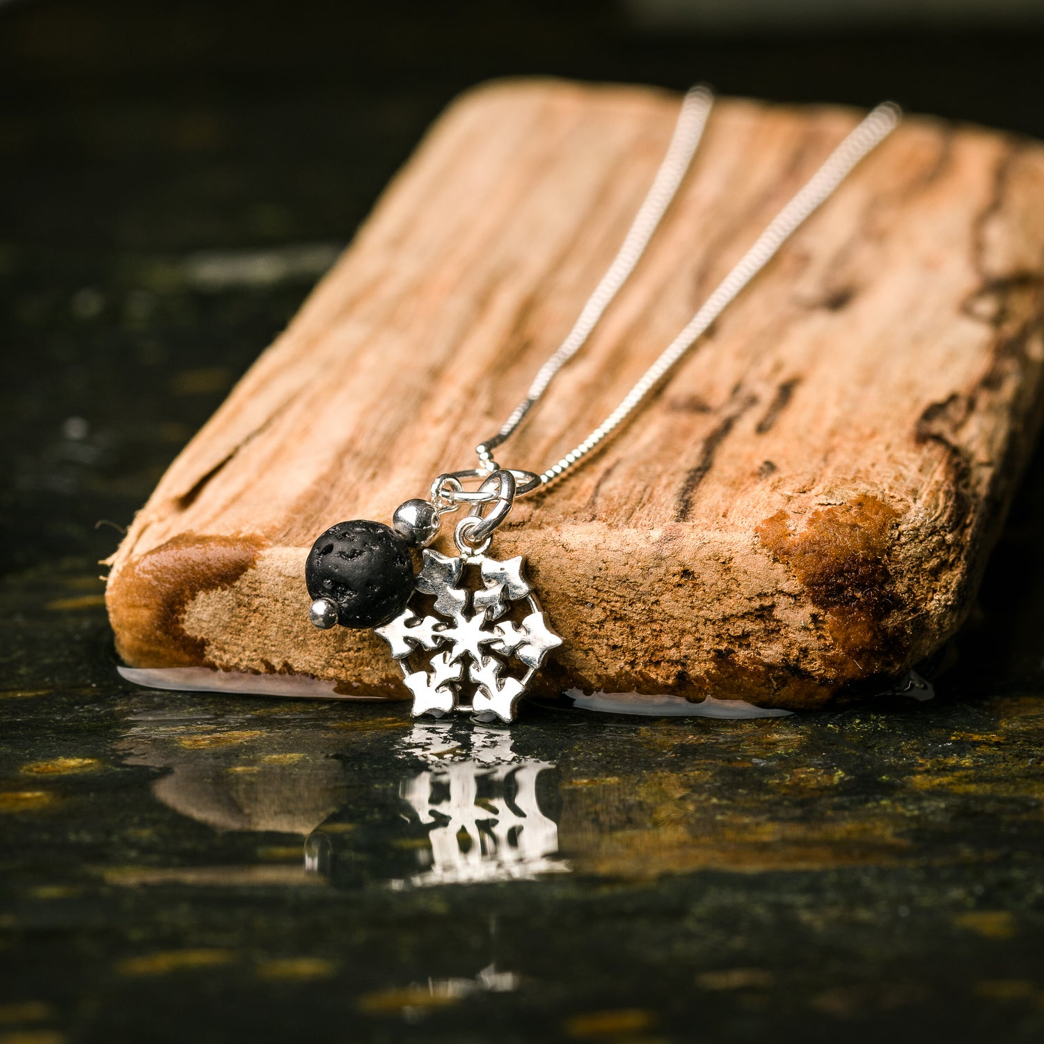 """Image of Snow and Rock pendant - 18"""" chain"""