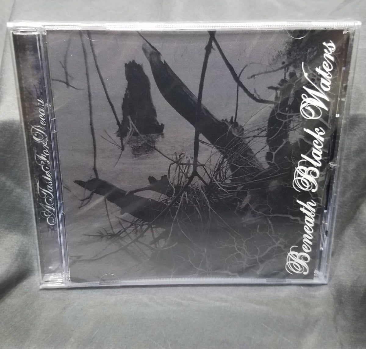 Image of A Taste For Decay Beneath Black Waters CD
