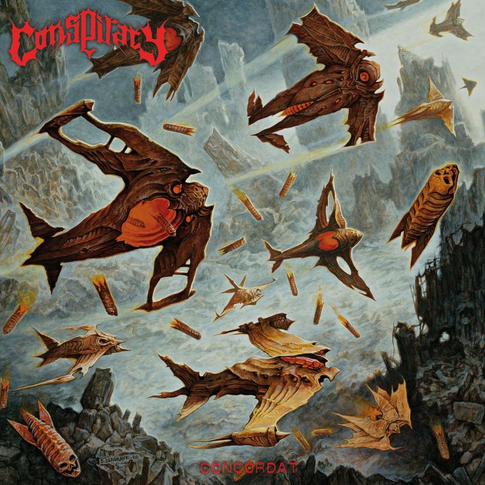 "CONSPIRACY ""Concordat"" Super Jewel Box CD"
