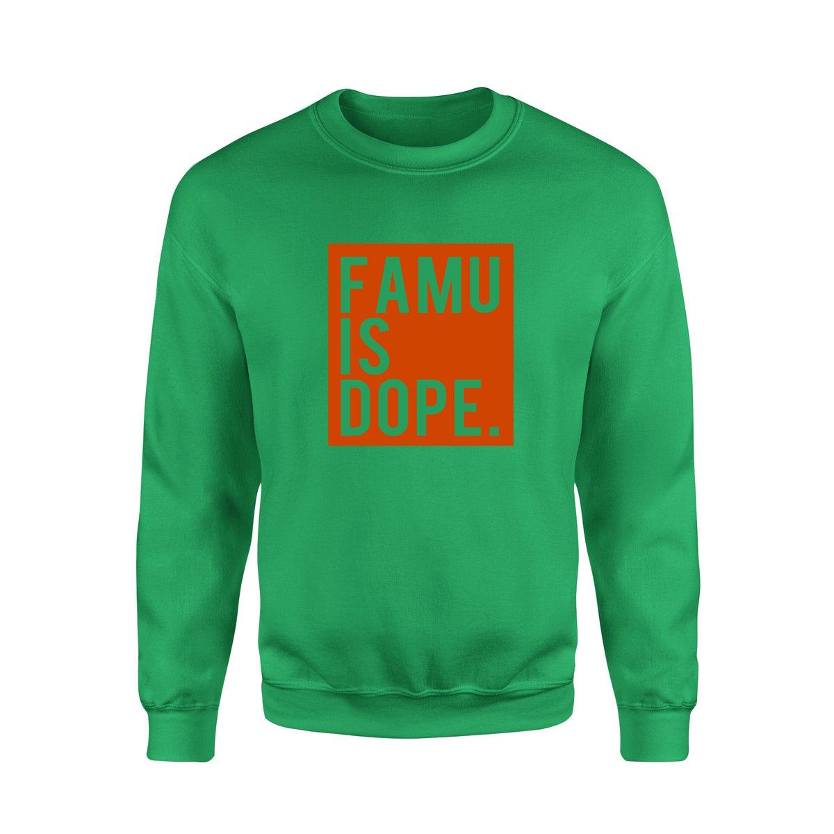 Image of FAMU IS DOPE Basic Crew Sweatshirt