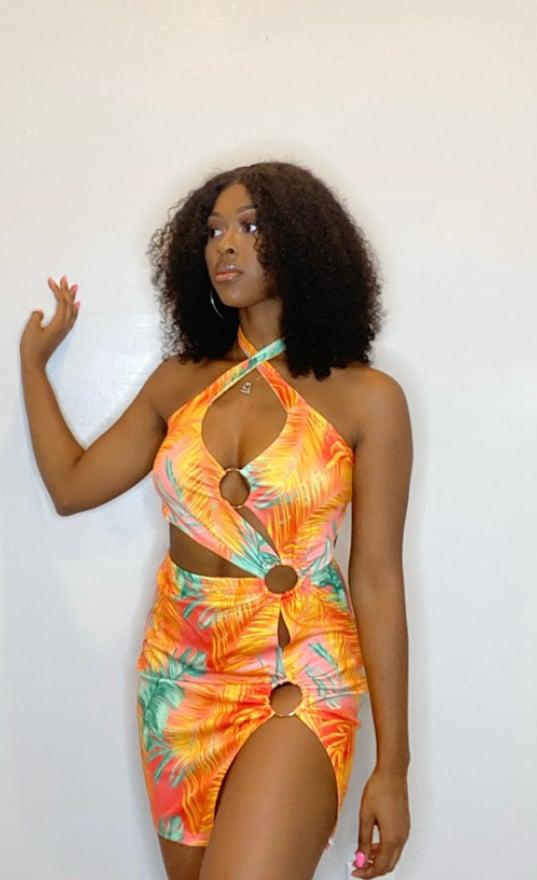 Image of Tropics Dress(S-XL)