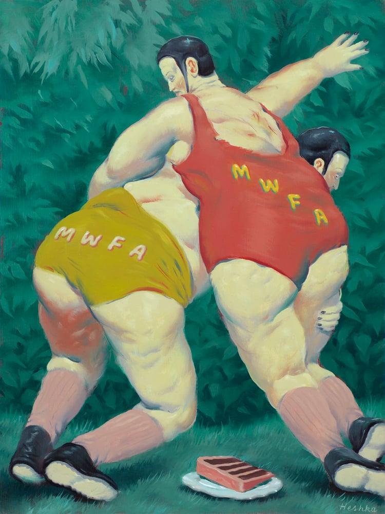 Image of Ryan Heshka - #MWFA (Men with fat asses)