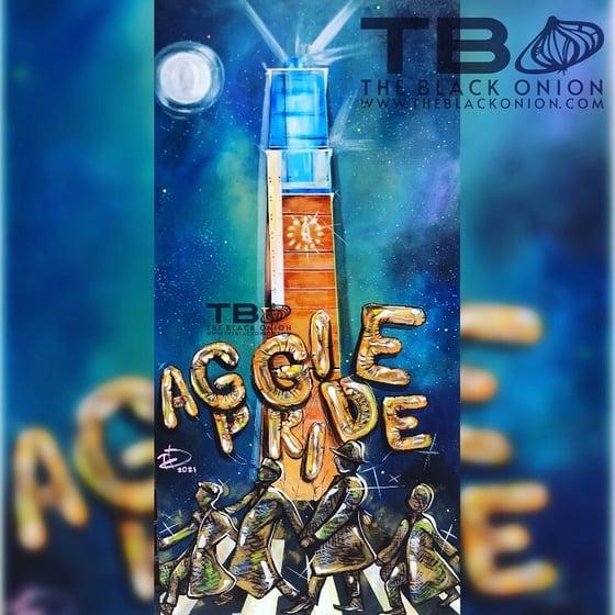 Image of AGGIE AF | canvas print