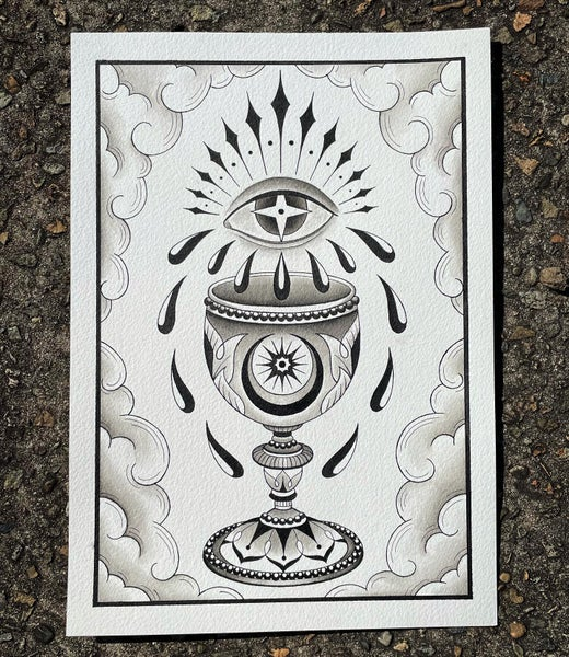 Image of The Chalice print