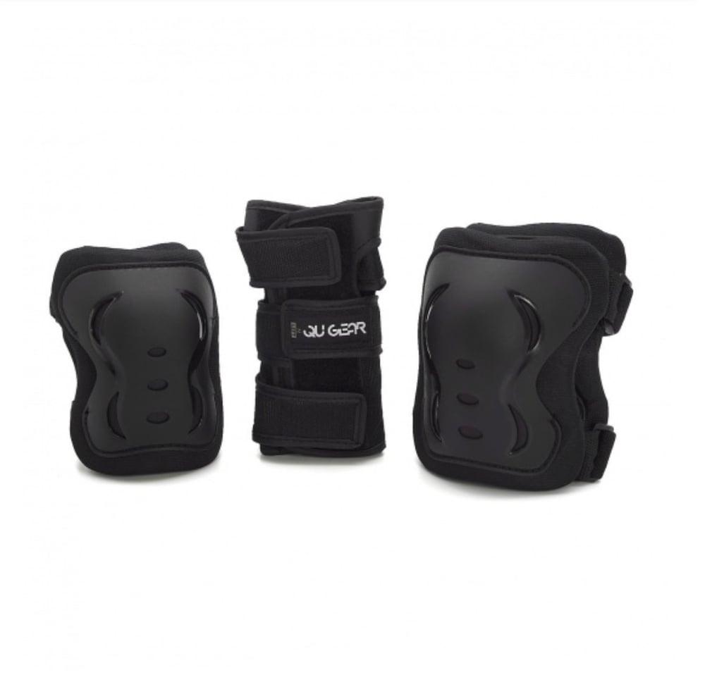 QUGEAR PACK 3 SPK303 PROTECTIONS BLACK