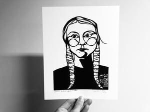 Image of Benefit Women's Wisdom Project Print: Greta Thunberg
