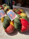 Made to Order: My Father's Garden: Bell Pepper on Various Yarn Bases