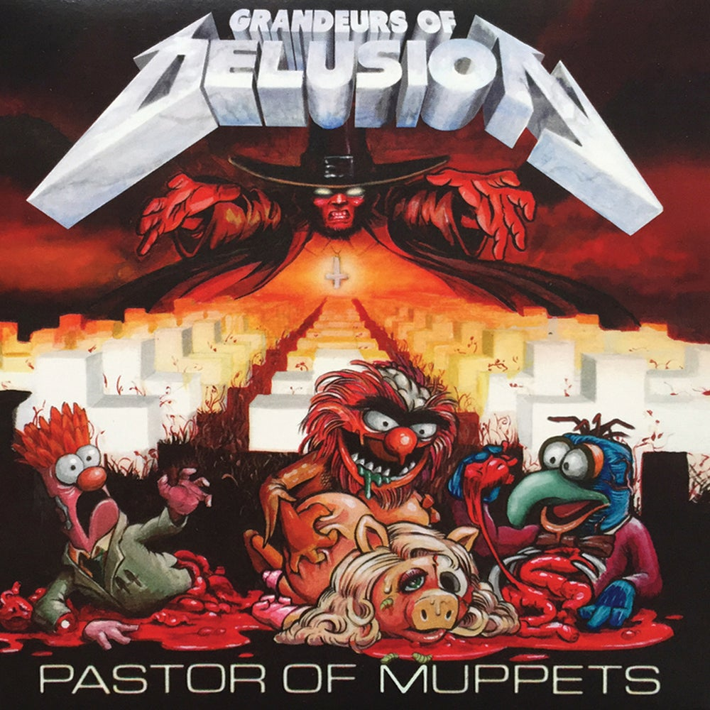 Image of CD - Grandeurs Of Delusion - Pastor Of Muppets - (NAUSE005)