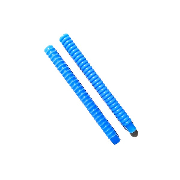 Image of Dusen Dusen Taper Candles  - Blue Set of Two
