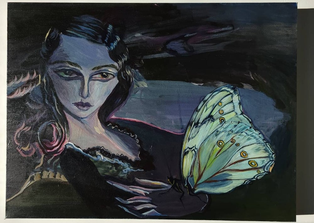 Image of Pearl ' Original painting