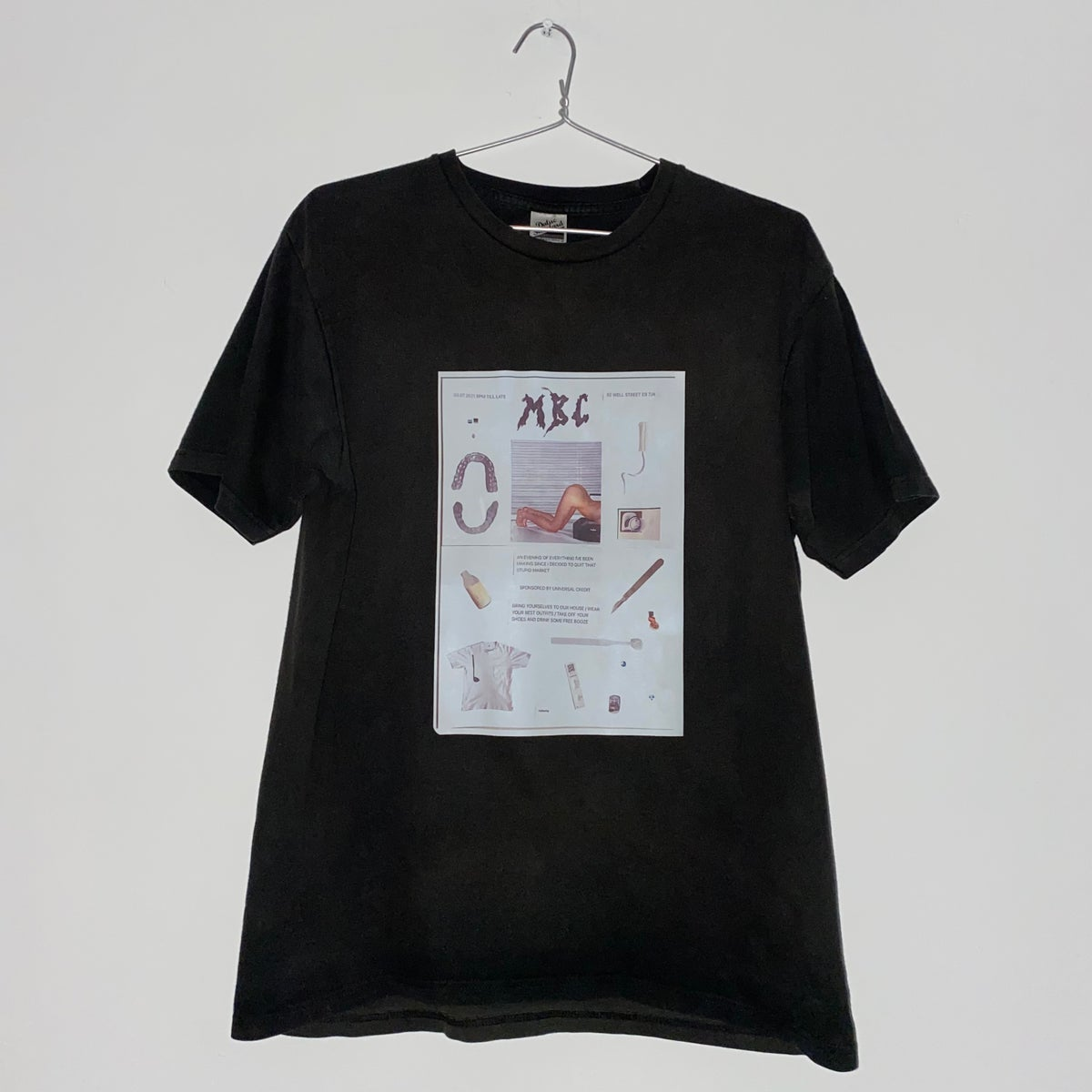 Image of POSTER TEE (BLACK)