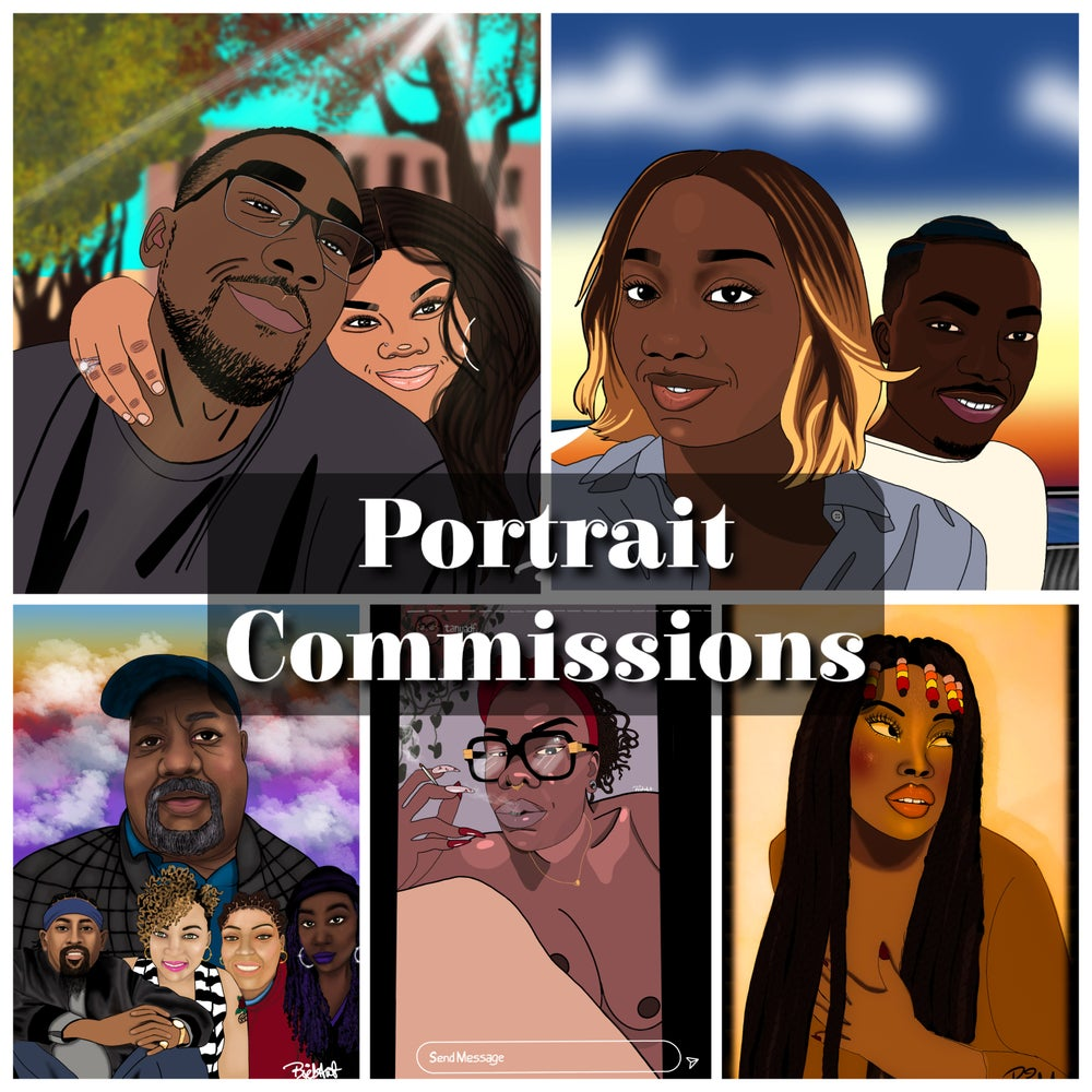 Image of Custom Portrait commission LIMITED SPACES