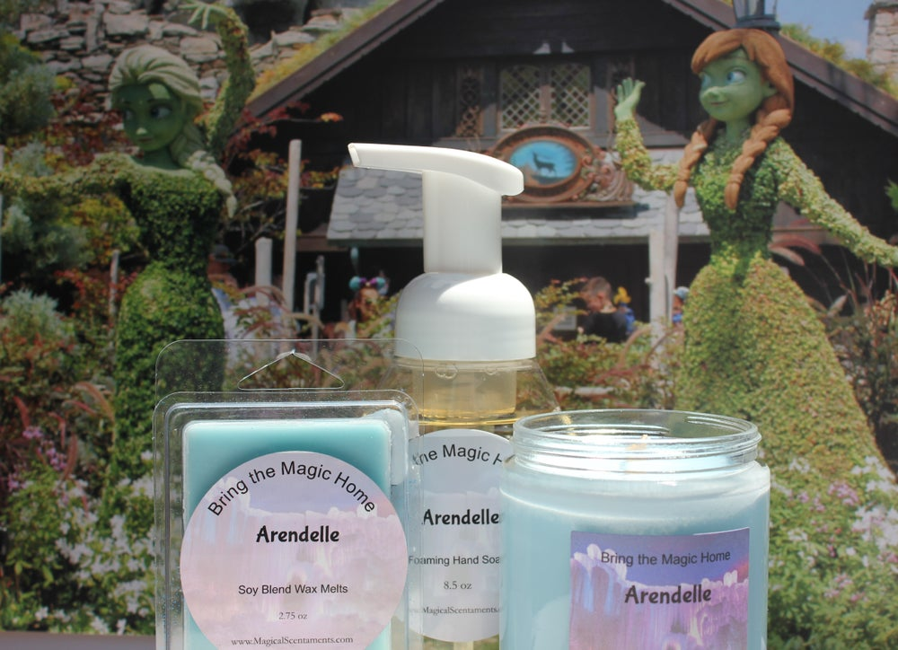 Image of Arendelle Jar Candle Inspired by Disney World
