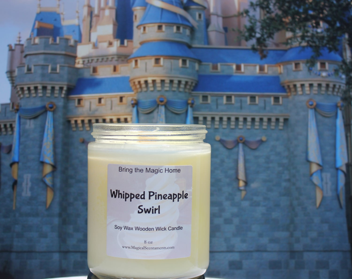 Image of Whipped Pineapple Swirl Inspired by Dole Whip