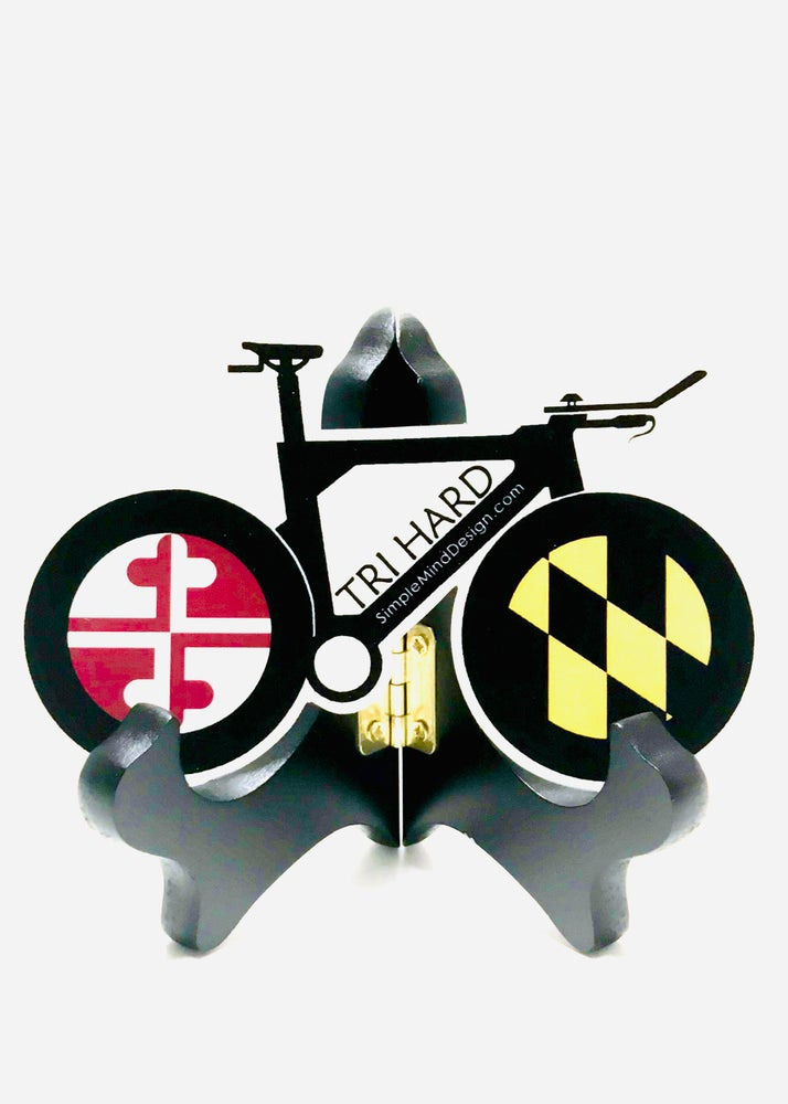 Image of Maryland Tri Bike Magnet