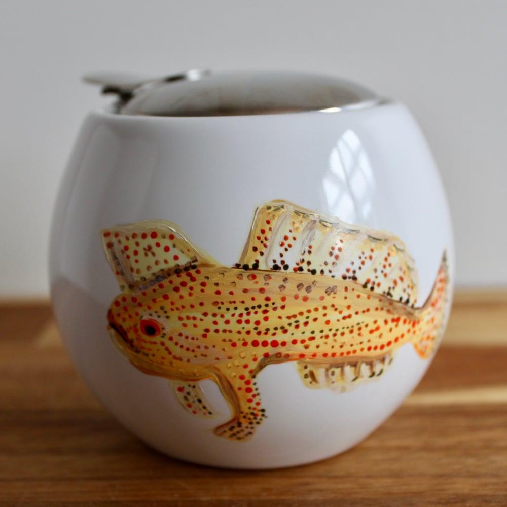 Spotted Handfish Sugar Pot