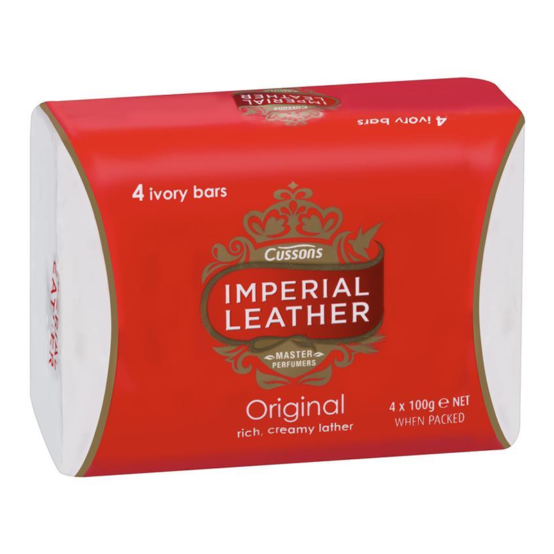 Image of Cussons Imperial Leather Bath Soap 300G 4Pk