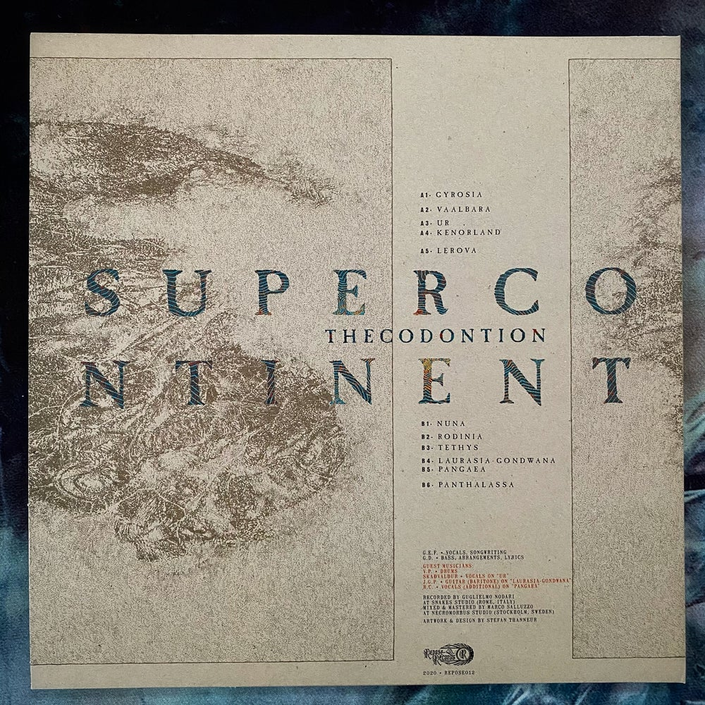 """Thecodontion """"Supercontinent"""" LP"""