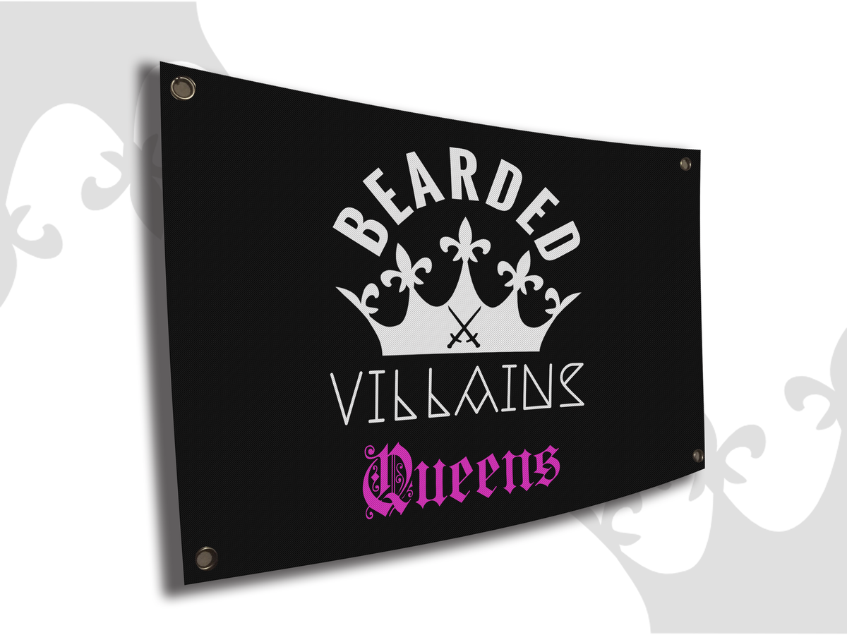Image of QUEENS WALL FLAG