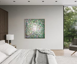 Image of Photosynthesis XII - 125x125cm FRAMED