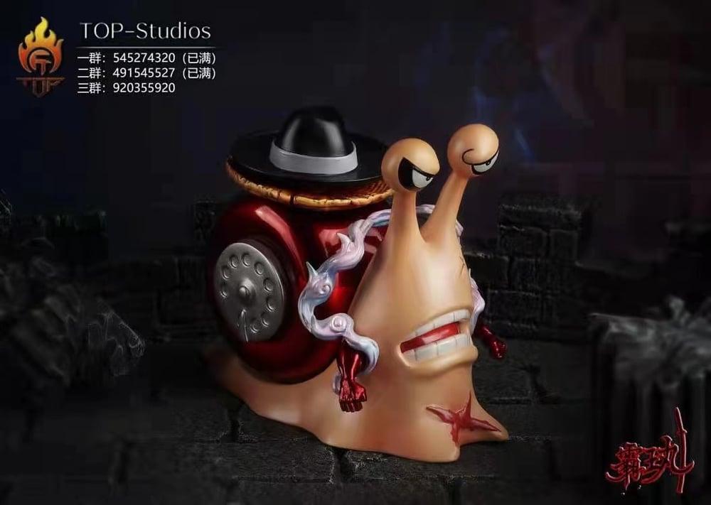 Image of [Pre-Order]One Piece Top Studio Den Den Mushi(Snakeman Luffy,Roger,Enel) Set Resin Statue
