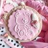 Teddy Bear - Raised Embosser