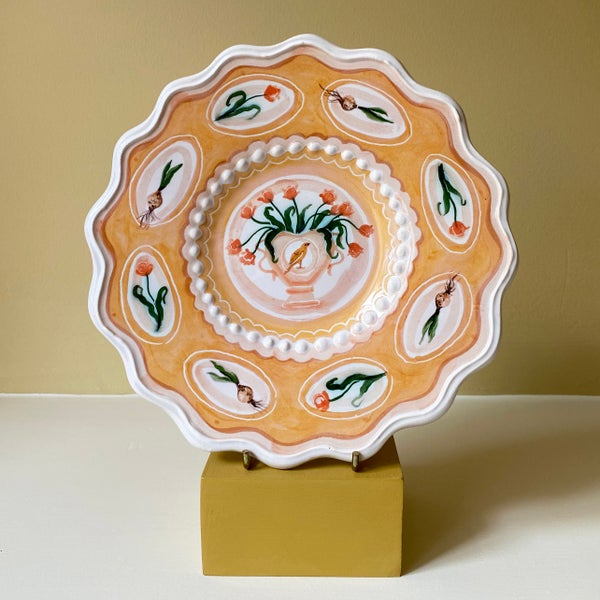 Image of Canary & Tulip - Romantic Plate
