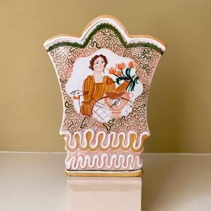 Image of Arranging Flowers - Large Romantic Vase