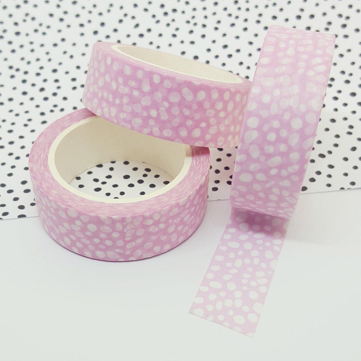 Pink Dalmation Washi Tape