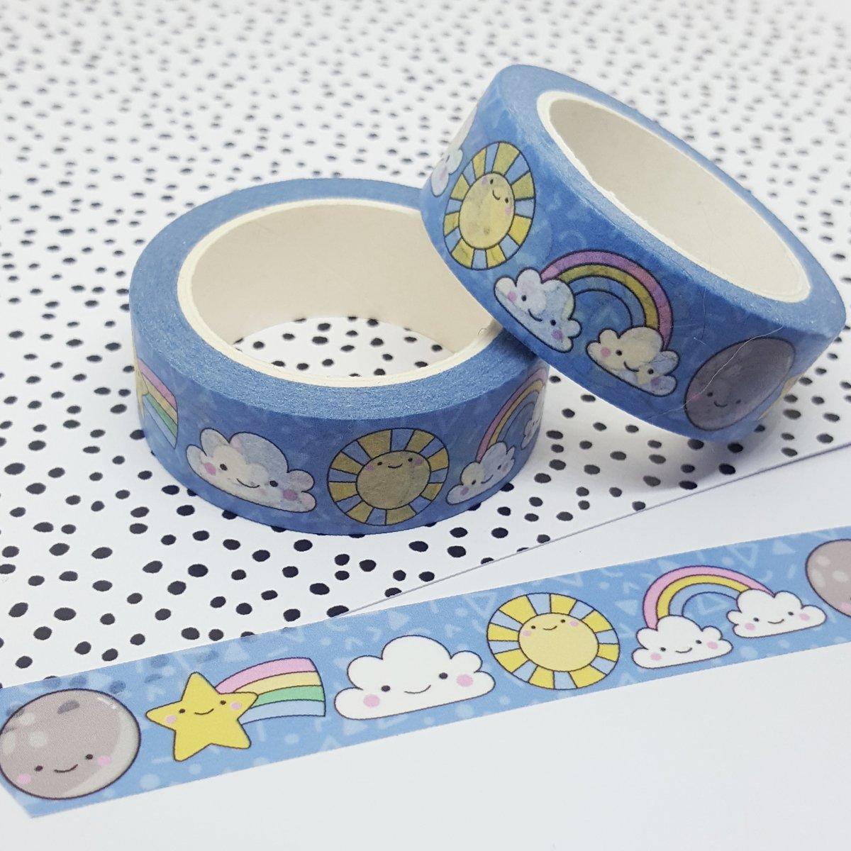 Smiley Skies Washi Tape