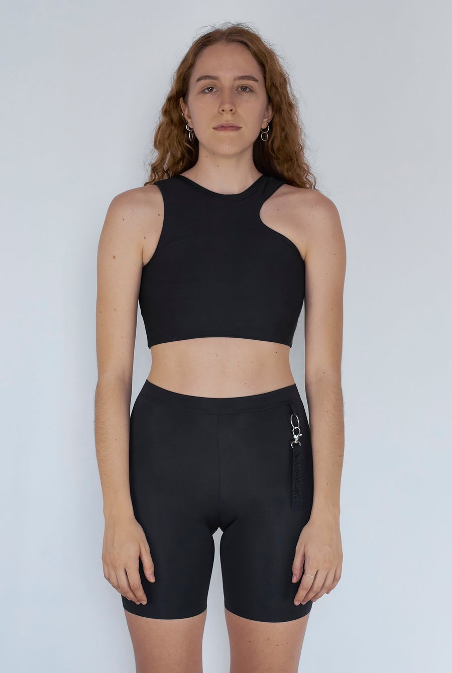 Image of Clarity Asymetric Top - Black