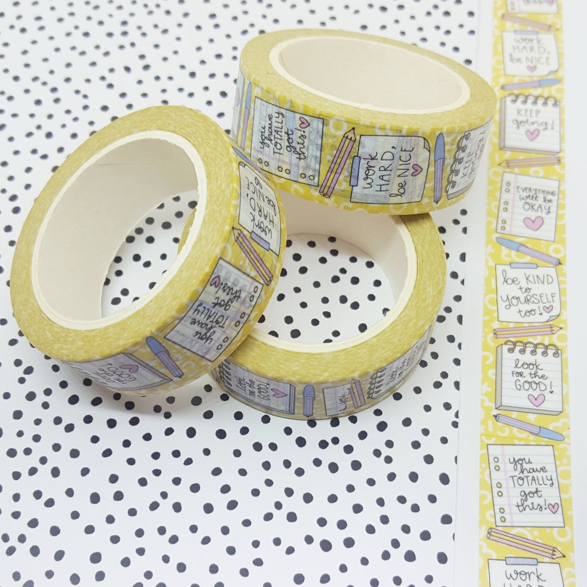 Note To Self Washi Tape