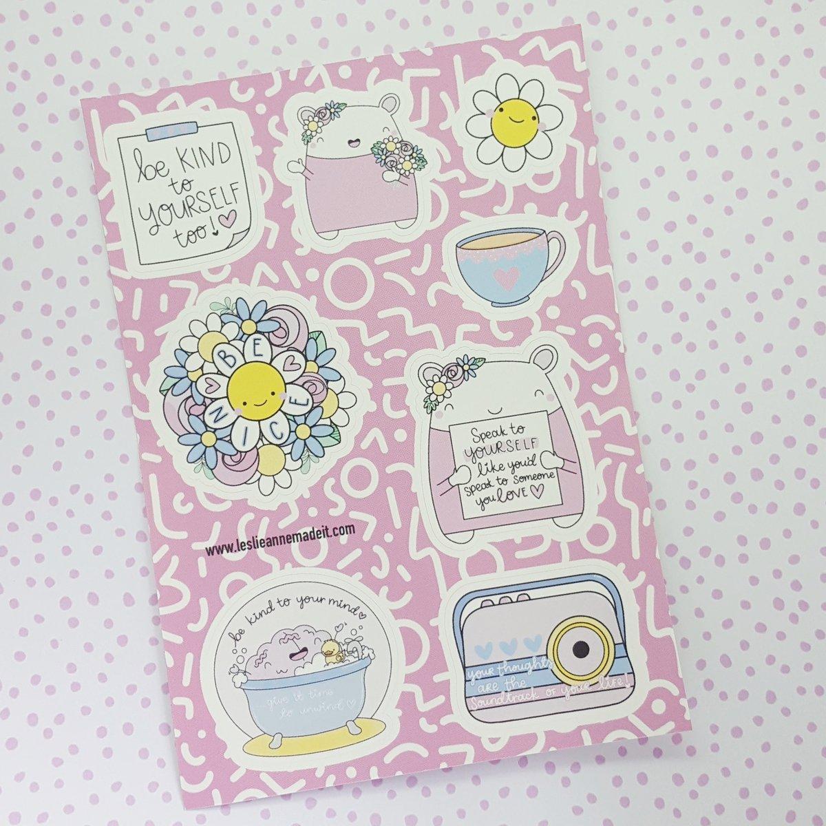 Be Kind Sticker Sheet